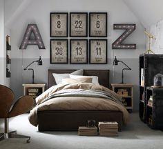 More science bedroom ideas Teenager Boys, Science Bedroom, Teen Boy Bedding, Upholstered Platform Bed, Bedroom Themes, Bedroom Ideas, My New Room, Interior Design, Inspiration