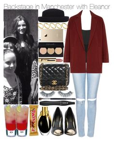 """""""Backstage in Manchester with Eleanor"""" by kiksfashion ❤ liked on Polyvore featuring Topshop, Chanel, ASOS, Lancôme and Napoleon Perdis"""