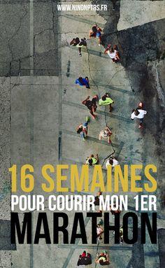 16 semaines pour courir mon 1er Marathon - Plan d'entrainement - www.ninonptrs.fr