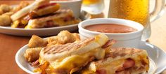 Three Cheese Panini Repinned from Bays English Muffins