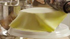 How to Make Buttercream Fondant youtube video.