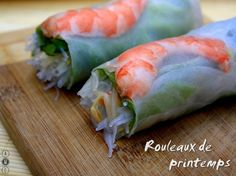 Rouleaux de printemps light