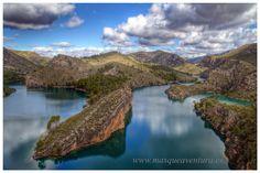 Masqueaventura, lago de bolarque,kayak,piragua,