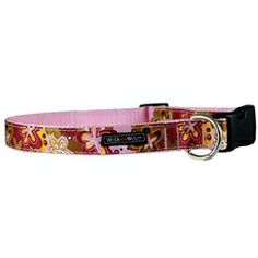 Dog Collars - WaLk-e-Woo Groovy Girl