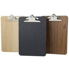 Image of Premium Wooden Clipboard