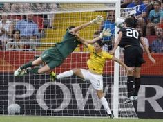 One of the most amazing goals I've ever seen. Abby Wambach is a badass.