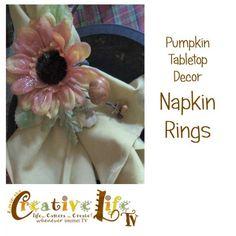 pumpkin napkin rings slide e1315674489644 Pumpkin Napkin Rings by Linda Peterson