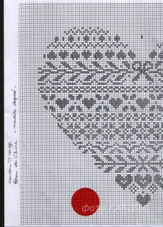 cuore cuore punto croce Cross Stitching, Cross Stitch Embroidery, Cross Stitch Patterns, Minnie Baby, Stitch Witchery, Cross Stitch Heart, Embroidery Monogram, Knitting Charts, Christmas Cross