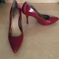 BCBG red patent pumps • SZ8 Never worn BCBG red patent pumps • great for any occasion • comfortable and never out of style  BCBGeneration Shoes Heels