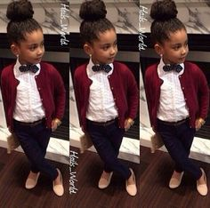 How cute is she? #NaturalHairKids