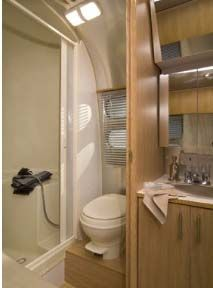 Our Airstream Remodel We Design And Build Custom Airstream - Small travel trailers with bathroom for bathroom decor ideas