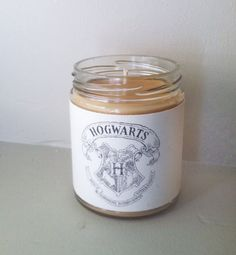 Nostalgia- Harry Potter Butterbeer Soy Candle by PenAndCandle on Etsy