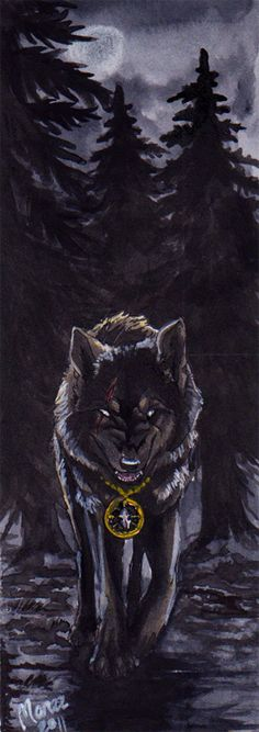 ACEO - Realwolfshade by Marzzunny.deviantart.com on @DeviantArt