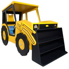 Road Digger themed Childs Bed