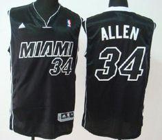 a00ef7d8e ... httpwww.xjersey.commiami-heat-34-ray-allen-swingman- Cheap Miami Heat  Ray Allen 34 Miami Black Revolution 30 swingman Jerseys ...