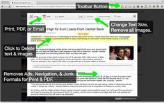 Print Friendly: A Handy Chrome Extension for Teachers ~ Educational Technology and Mobile Learning