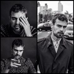 Theo James in FLAUNT Magazine released recently!!! #TheoJames