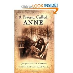 A Friend Called Anne Presents the story of Jacqueline van Maarsen and her friendship with Anne Frank before Anne and her family went into hiding and recalls her own life in Nazi-occupied Holland.