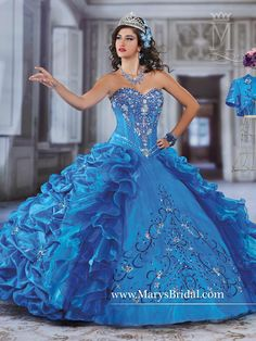 Quinceanera - Princess - Style: 4Q953 by Mary's Bridal Gowns