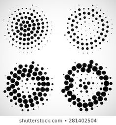 Find Set Abstract Geometric Dotted Circles Vector stock images in HD and millions of other royalty-free stock photos, illustrations and vectors in the Shutterstock collection. Tolle Logos, Black Dots, Vector Background, Illustration, Art Drawings, Stencils, Typography, Graphic Design, Pattern