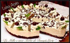 Condividi la ricetta...Condividi la ricetta...RICETTA DI: LUISA ARATO Ingredienti per la base: 300 g biscotti al cioccolato 40 g farina di cocco 100 g di burro fuso Ingredienti per la farcia: 500 g di yogurt bianco (potete…