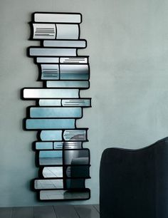 Possibly the greatest mirror ever made for a book lover!
