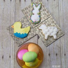 No special tools required to make these Easter Sugar Cookies. I whipped them up in no time!