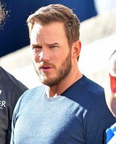 Chris Pratt, Chris Evans, Beard Styles For Men, Couple Weeks, Husband Love, Man Alive, Attractive Men, Hemsworth, Celebrity Crush