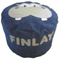 Personalised bean bag - Henry the Hippo - PetitePeople, bean bag