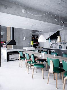 dining room interiors