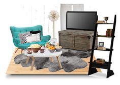 """Netflix and Chill"" by belatav on Polyvore featuring interior, interiors, interior design, home, home decor, interior decorating, Piet Hein Eek, Suki Cheema, KARE and UGG Australia"