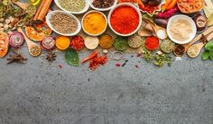 Wake up your taste buds! Cooking with herbs and spices will enhance the flavor of healthy foods without adding fat, salt, sugar, or calories. Herbal Remedies, Natural Remedies, Flu Remedies, High Antioxidant Foods, Nutrition Articles, Nutrition Activities, Health Articles, Health Tips, Summer Parties