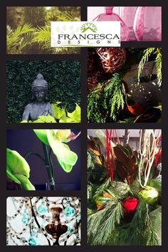 Francesca Designs - floral design for Christmas in fresh, everlasting and seasonal throughout the year! Christmas Urns, Christmas Ornaments, Garden Design, Floral Design, Seasons, Fresh, Holiday Decor, Painting, Outdoor