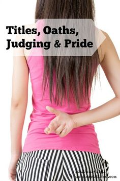 """""""Titles, Oaths, Judging & Pride"""" February 5"""