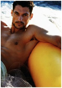 Scuba   David Gandy by Greg Lotus for GQ Style Germany