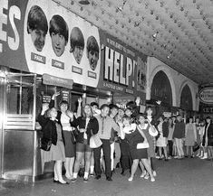 25 AUG 1965 the Beatles 'Help! Beatles Books, Les Beatles, Bug Boy, The Beatles Help, George Martin, Ticket To Ride, Monty Python, British Invasion, Anos 60