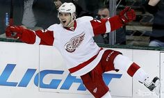 Tomáš Tatar. Slovak hockey player for Detroit Red Wings. In National team he gave a lot of goals.