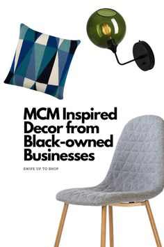 Mid Century Modern style's growing popularity means you don't have to rely on vintage decor to get the high-end retro look you want. Here is a roundup of some new MCM-inspired decor pieces from Black-owned businesses. See more at atomic-ranch.com Sky Home, Black Rooster, Atomic Ranch, Take Off Your Shoes, Mid Century Modern Decor, Retro Look, Scandinavian Style, Home Decor Items, Vintage Decor