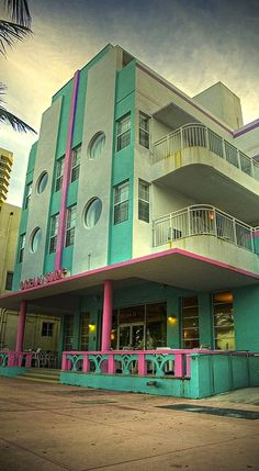 Art Deco South Beach | cynthia reccord