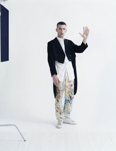 """Couture's Outre Attitude"" | Model: Cosmo MacDonald, Photographer: Tim Walker, W Magazine, April 2013"