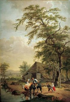 Pieter Barbiers, The Horse being watered, ca. 1790. Frans Hals Museum
