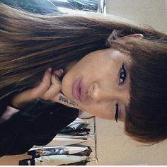 Ariana Grande  @ilovebubblee New look of Ariana