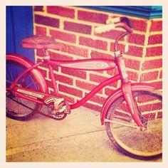.@msbellee   #vintage #bicycle #julyphotochallengefpoe