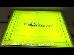 "Pre-registration screen printing board how-to video 2. For all your screen printing needs go to <a href=""http://www.screenprinting.com"" rel=""nofollow"" target=""_blank"">www.screenprintin...</a>"