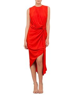 David Jones - Zimmermann Silk Twist Drape Dress