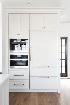By by obnoxious stainless steel fridge and hello elegant kitchen | Chrissy & Co