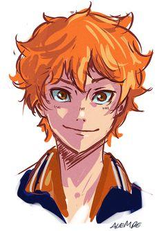 Haikyuu Fanart, Haikyuu Anime, Anime Drawings Sketches, Cute Drawings, Hinata Shouyou, Kagehina, Cartoon Art Styles, Character Drawing, Cute Art