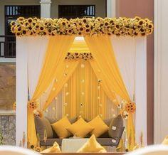 Indian Wedding Theme, Desi Wedding Decor, Indian Wedding Receptions, Floral Wedding Decorations, Wedding Mandap, Backdrop Decorations, Wedding Ideas, Wedding Humor, Decor Ideas