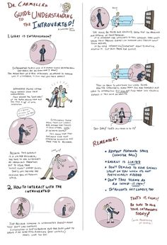 How to Live with Introverts Guide Printable by =SchroJones on deviantART