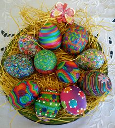 Easter Eggs. Sady no tutorial, beautiful though